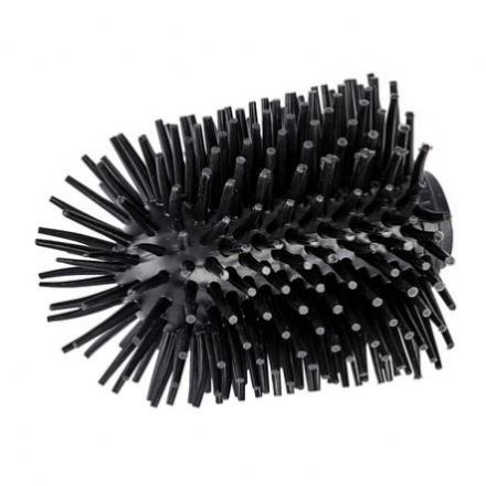 Wenko Replacement Silicone Brush Head Black 22242100